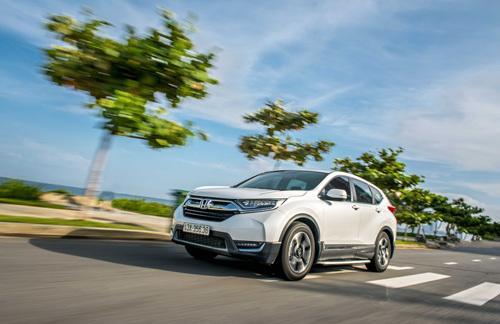 CR-V, mẫu xe bán chạy nhất của Honda trong 2019. Ảnh: HVN