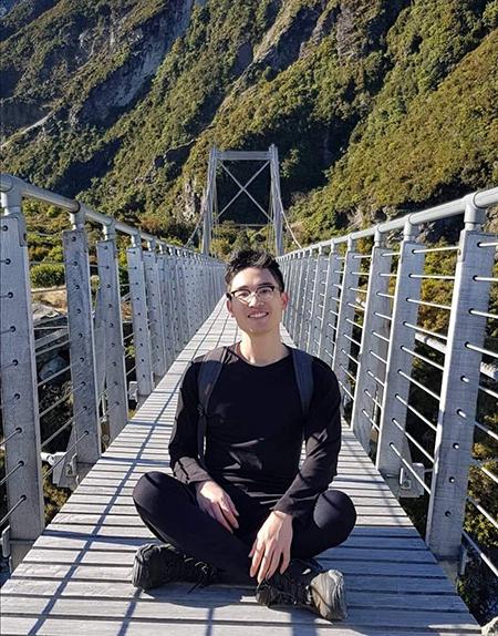 Thanh Tùng hiện là sinh viên năm nhất trường Đại học Canterbury, New Zealand.