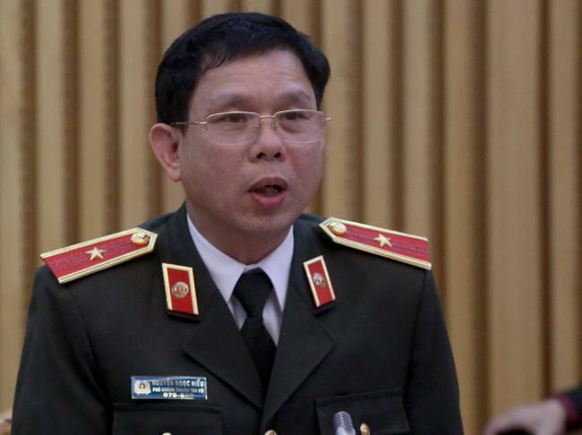 Thiếu tướng Nguyễn Ngọc Hiếu. Ảnh: Bá Đô
