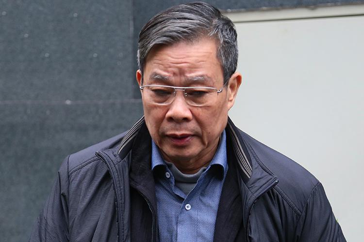 Ông Nguyễn Bắc Son tại TAND trong ngày 24/12. Ảnh: Phạm Dự