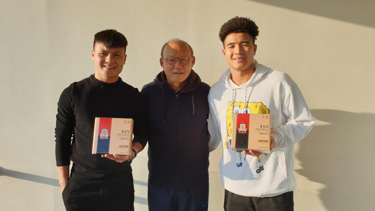 U23 Việt Nam nhận mưa lời khen khi tập huấn ở Hàn - ảnh 3