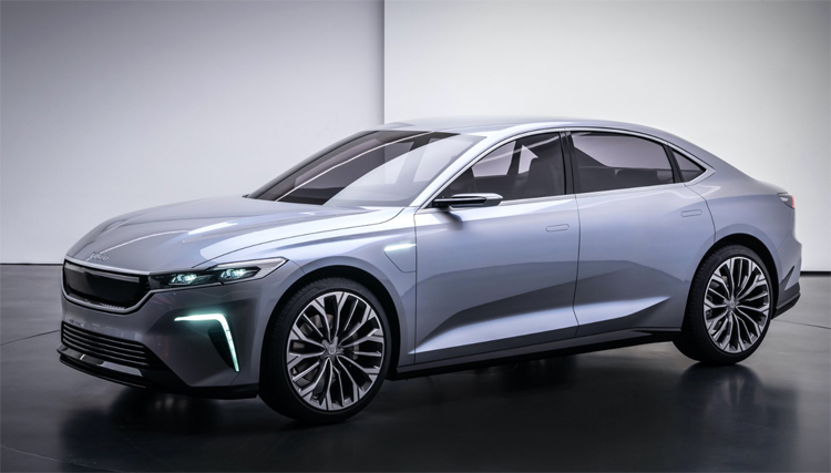 TOGG concept bản sedan. Ảnh: Motor1