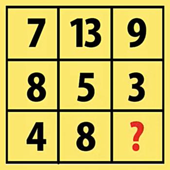 Kiểm tra IQ với năm bài toán - 3