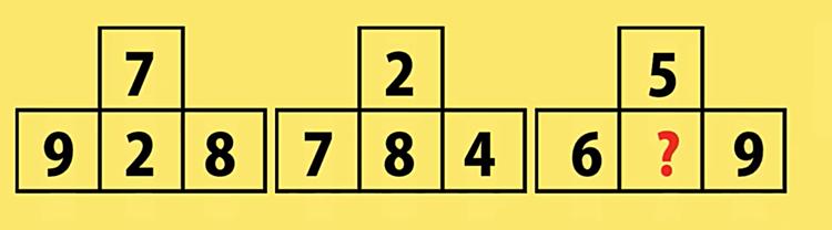 Kiểm tra IQ với năm bài toán - 4