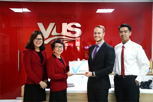 VUS nhận chứng nhận NEAS về chất lượng giảng dạy và dịch vụ trên tất cả các cơ sở.