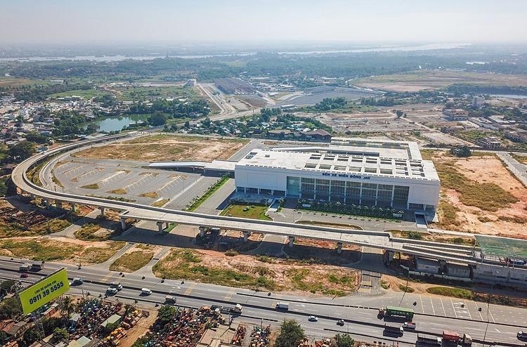 Bến xe Miền Đông mới được xây dựng ở quận 9. Ảnh: Quỳnh Trần