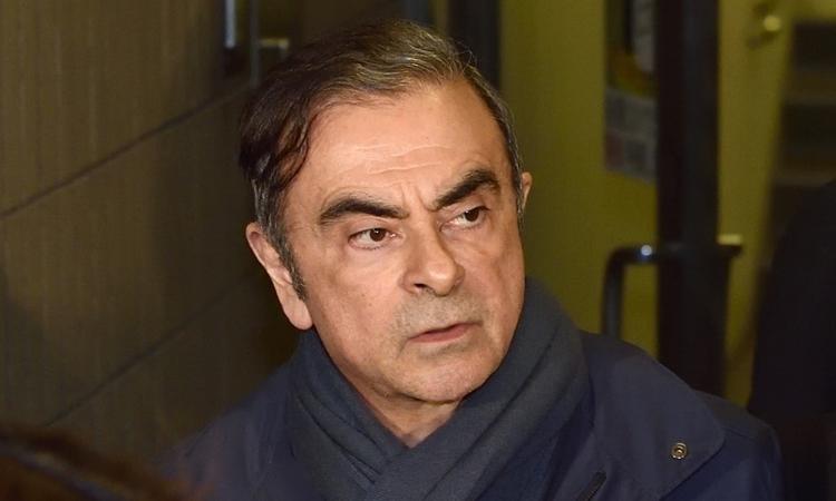 Carlos Ghosn tại Tokyo hồi tháng 4. Ảnh: AFP.