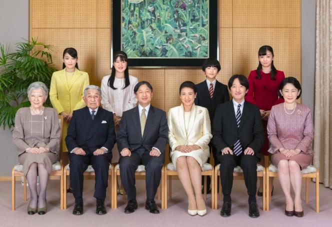 Ảnh hoàng gia Nhật Bản được công bố nhân dịp năm mới. Ảnh: Imperial Household Agency
