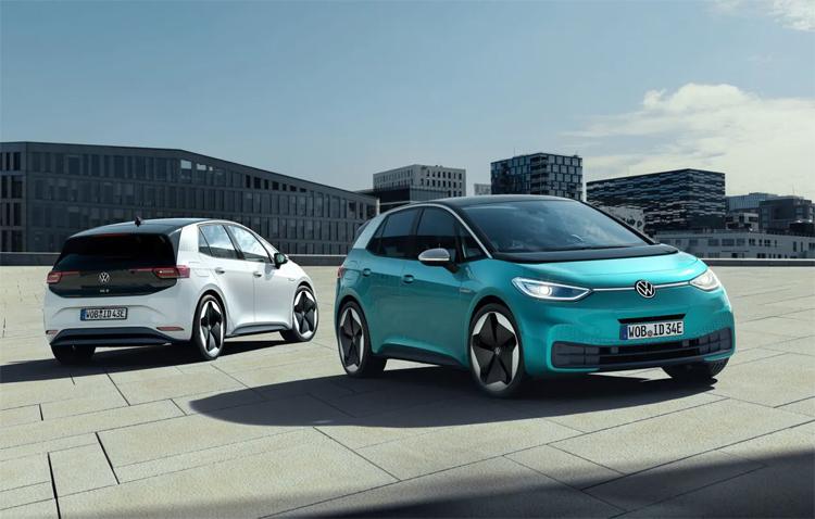 ID.3, mẫu xe điện của Volkswagen có giá chưa tới 33.000 USD. Ảnh: Volkswagen