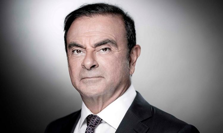 Carlos Ghosn tại Pháp tháng 9/2018. Ảnh: AFP.