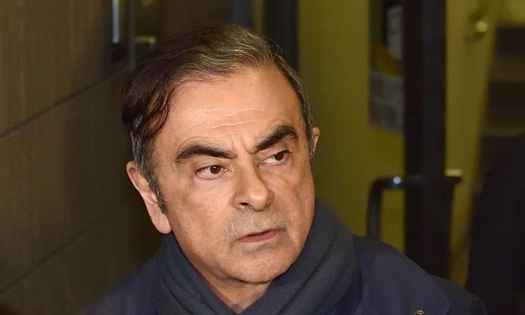 Cựu chủ tịch tập đoàn ôtô Nissan tại Tokyo hồi tháng 4/2019. Ảnh: AFP.