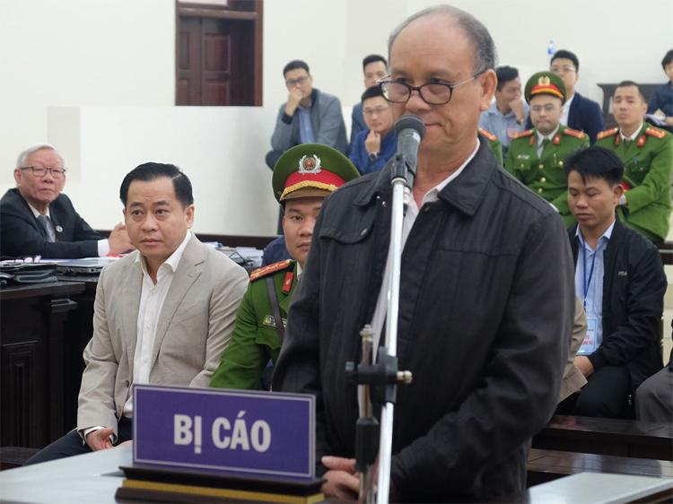 Cựu chủ tịch UBND Đà Nẵng Trần Văn Minh. Ảnh: Xuân Hoa
