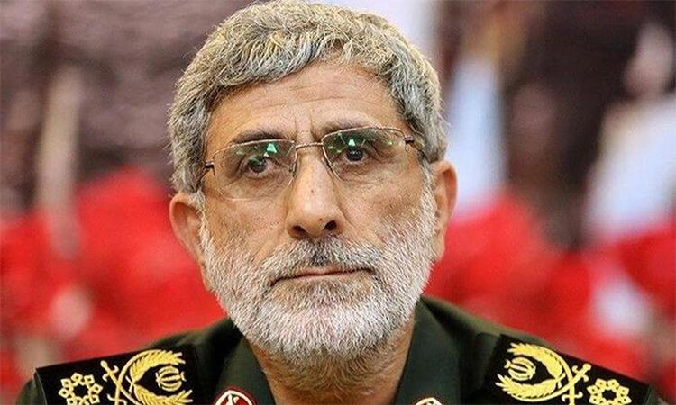 Chuẩn tướng Esmail Ghaani được bổ nhiệm thay thế thiếu tướng Qasem Soleimani bị Mỹ giết chết trong vụ không kích ngày 3/1 tại Iraq. Ảnh: EPA.