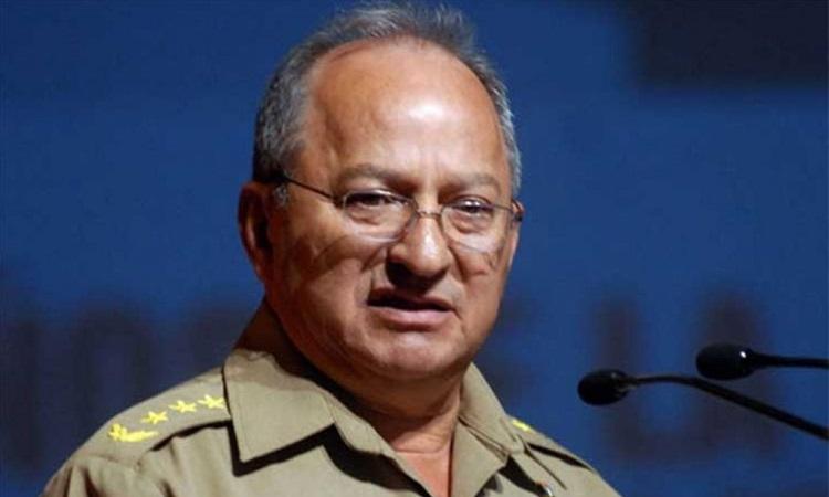 Bộ trưởng Lực lượng Vũ trang Cách mạng Cuba (MINFAR) Leopoldo Cintra Frias. Ảnh: Cubasi.