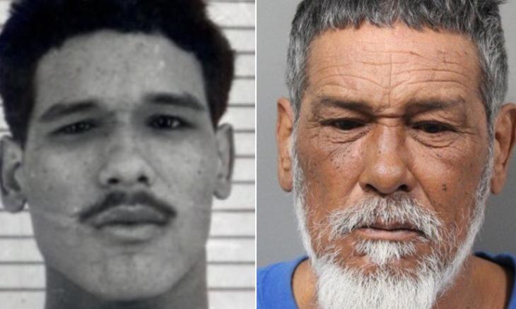 Ảnh chụp Jose Romero năm 1979 (trái) và năm 2020. Ảnh: Trại Cải huấn Nam Carolina.