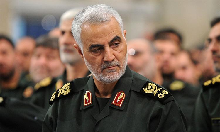 Thiếu tướng Iran Quasem Soleimani thiệt mạng trong vụ không kích của Mỹ tại Baghdad, Iraq hôm 3/1. Ảnh: Anadolu
