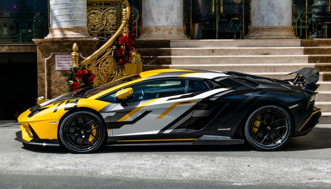 Lamborghini Aventador S độc nhất Việt Nam thêm nâng cấp