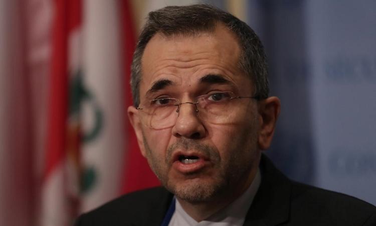 Đại sứ Iran tại Liên Hợp Quốc Majid Takht-Ravanchi ở New York tháng 6/2019. Ảnh: Reuters.