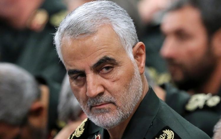 Thiếu tướng Qassem Soleimani trong cuộc họp tại Tehran tháng 9/2016. Ảnh: Reuters.