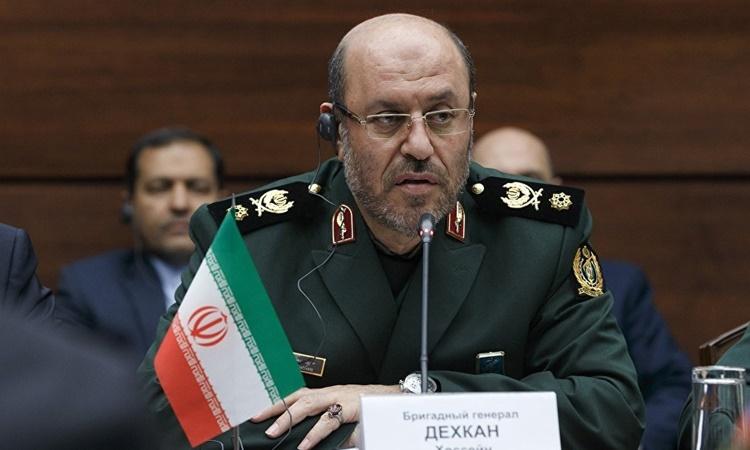 Cố vấn quân sự Iran Hossein Dehghan. Ảnh: Russia Defense Ministry.
