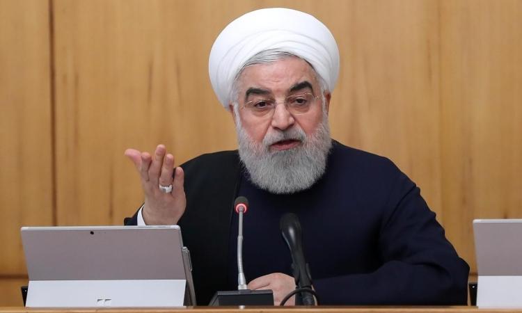 Tổng thống Iran Hassan Rouhani phát biểu trong cuộc họp nội các ở Tehran ngày 11/12/2019. Ảnh: Reuters.