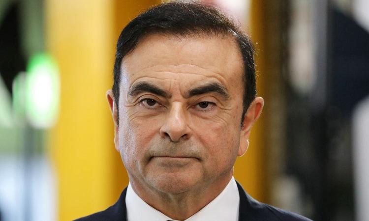 Carlos Ghosn tại Pháp hồi tháng 11/2018. Ảnh: AFP.