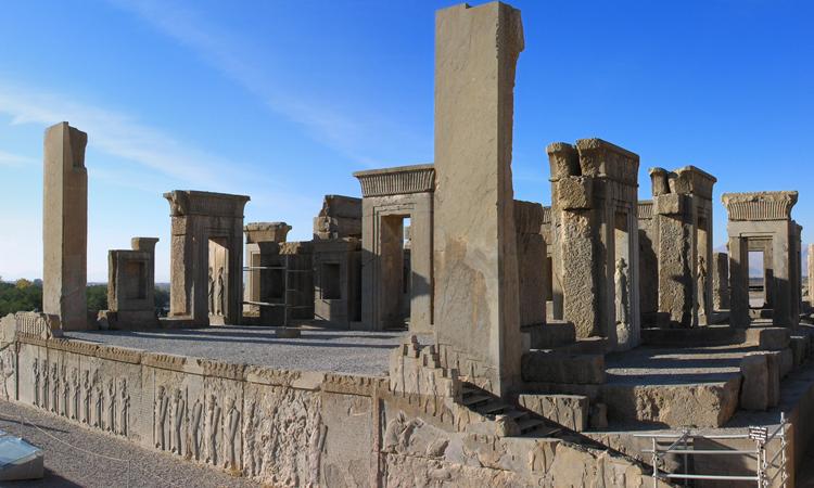 Tàn tích cổ Persepolis của Iran. Ảnh: Wikipedia.