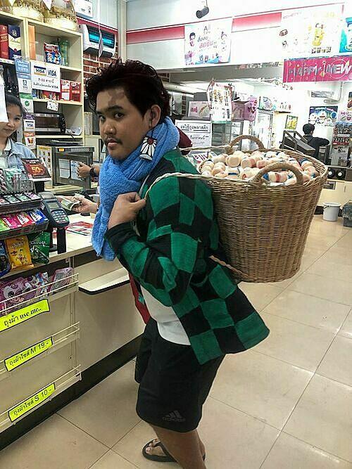 Người dân Thái Lan hợp tác cùng chiến dịch Nói không với túi nylon  - 4