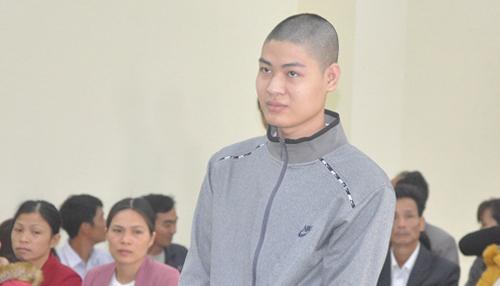 Bị cáo tại phiên toà sơ thẩm. Ảnh: Lam Sơn.