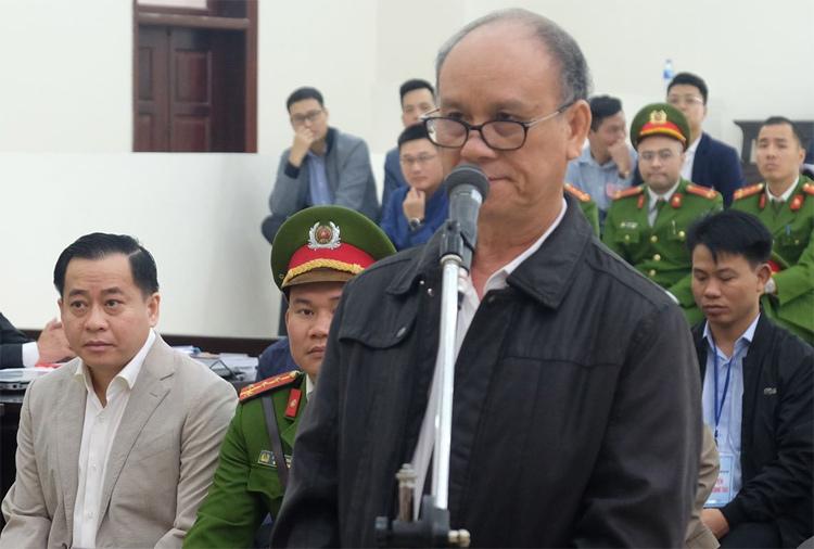 Ông Trần Văn Minh tại TAND Hà Nội. Ảnh: Xuân Hoa