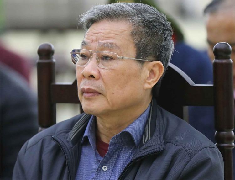 Ông Nguyễn Bắc Son tại TAND Hà Nội hôm 20/12. Ảnh: TTXVN.