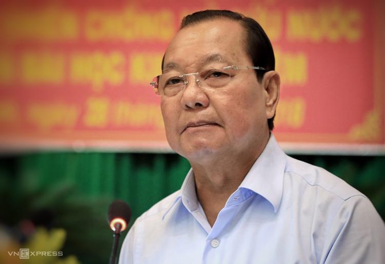 Ông Lê Thanh Hải, nguyên Bí thư Thành ủy TP HCM. Ảnh: Hữu Khoa.