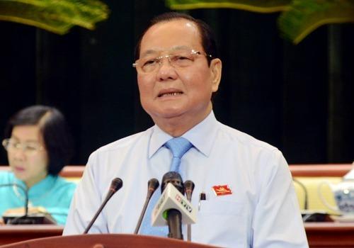Ông Lê Thanh Hải, nguyên Bí thư Thành ủy TP HCM. Ảnh: CTV