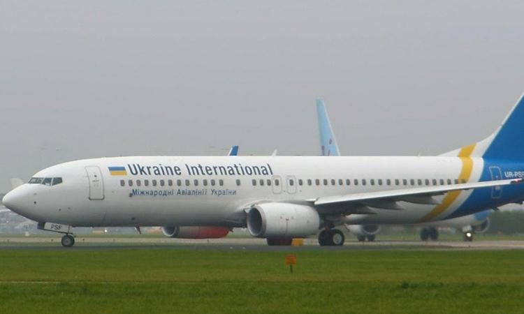 Một chuyến bay của hãng hàng không Ukraine. Ảnh: Fox.