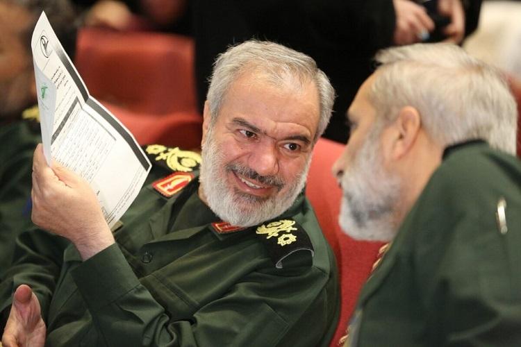 Tướng Ali Fadavi trong một cuộc họp hồi tháng 11/2019. Ảnh: AFP.