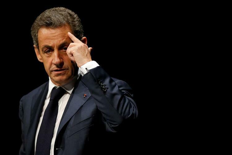 Cựu tổng thống Pháp Nicolas Sarkozy trong một hội nghị ở Les Sables dOlonne, Pháp, tháng 10/2016. Ảnh: Reuters.