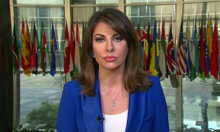 Phát ngôn viên Bộ Ngoại giao Mỹ Morgan Ortagus. Ảnh: CNN.