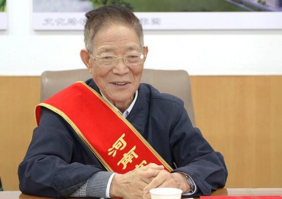 Wang Zelin quyên góp 82,08 triệu nhân dân tệ cho trường đại học. Ảnh: Đại học Nông nghiệp Hà Nam