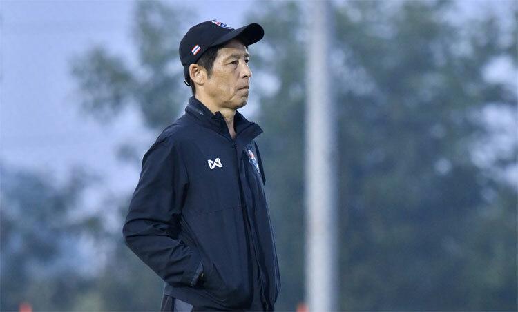 Nishino quyết tâm đưa Thái Lan tiến xa tại giải U23 năm nay. Ảnh: SiamSport