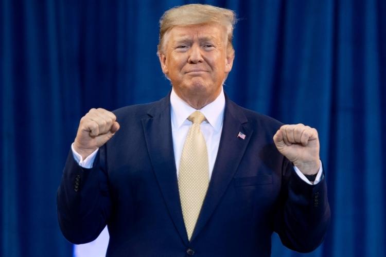 Tổng thống Mỹ Donald Trump tại Louisiana tháng 10/2019. Ảnh: AFP.