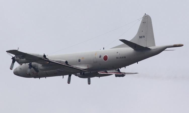 Trinh sát cơ P-3C của JMSDF. Ảnh: Airliners.