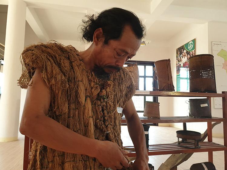 Photo of Áo vỏ cây của người Pa Kô