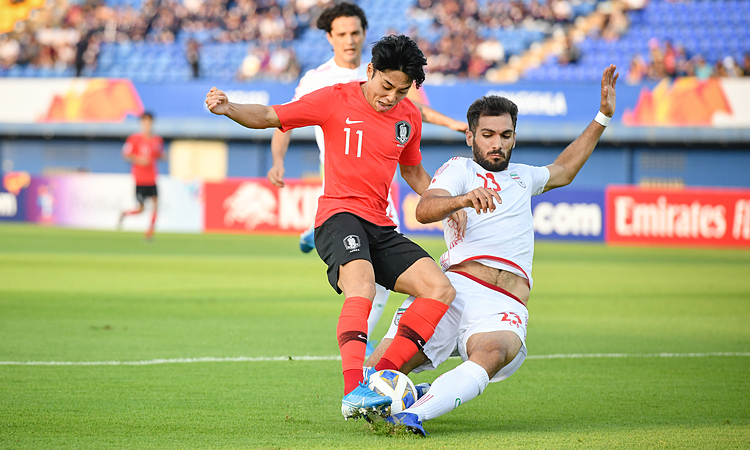 Hàn Quốc vào tứ kết U23 châu Á