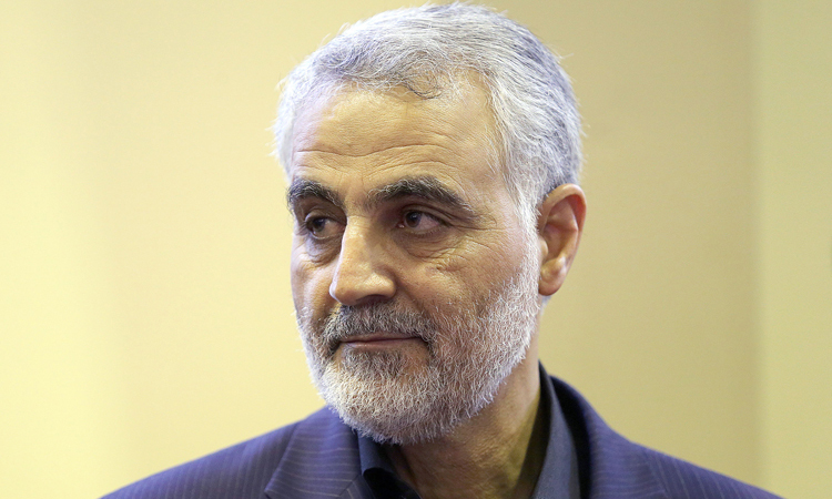 Tướng Iran Qasem Soleimani tại thủ đô Tehran hồi tháng 9/2013. Ảnh: AFP.
