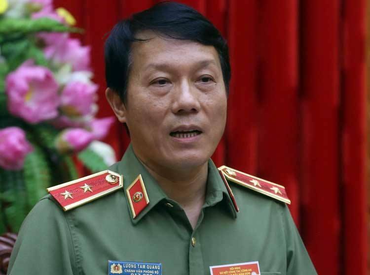 Trung tướng Lương Tam Quang. Ảnh: Bá Đô