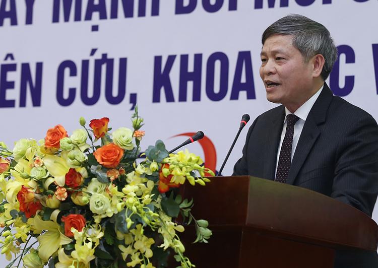 Thứ trưởng Phạm Công Tạc phát biểu tại sự kiện.