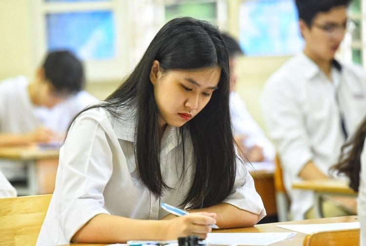 Thí sinh dự thi THPT quốc gia năm 2019. Ảnh: Giang Huy