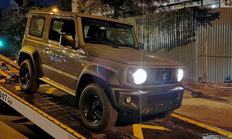 Suzuki Jimny - xe off-road ti hon dau tien ve Viet Nam