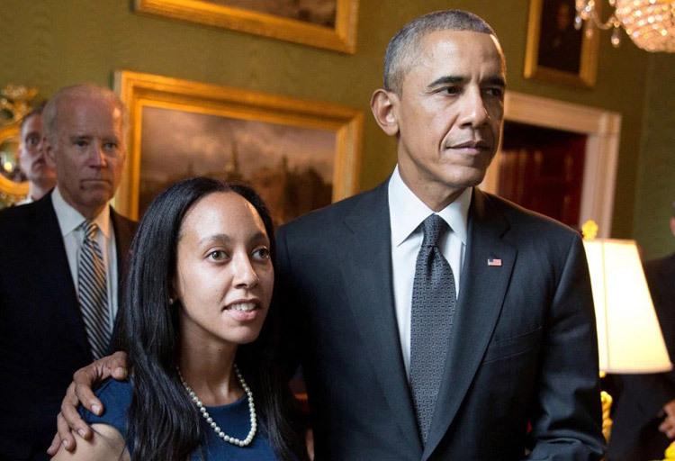 [Caption]Haben Girma được Tổng thống Barack Obama dẫn thăm phòng Xanh vào năm 2013. Ảnh: The White House/Pete Souza.