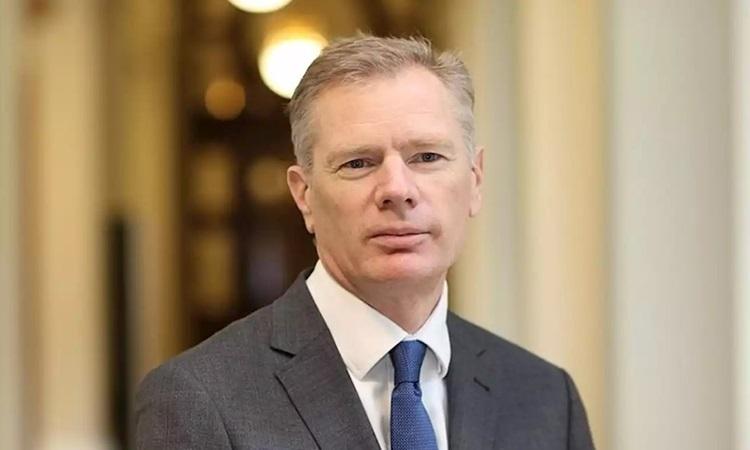 Đại sứ Anh tại Iran Robert Macaire hồi năm 2018. Ảnh: iNews.